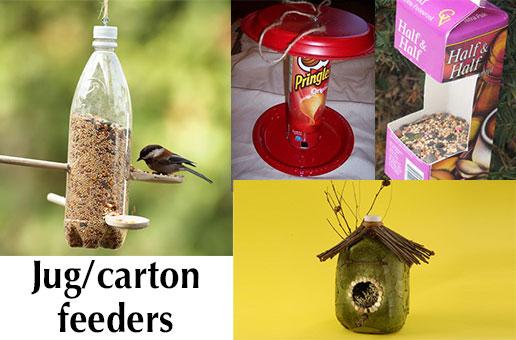 Jug/carton feeder