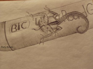 bic lizard-signed