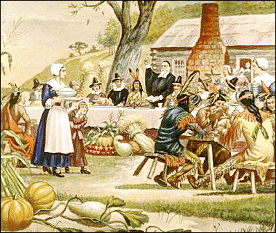 First_Thanksgiving_in_America