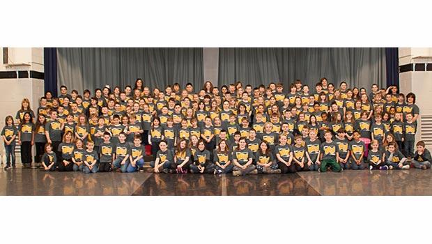 Garfield Elementary School Students