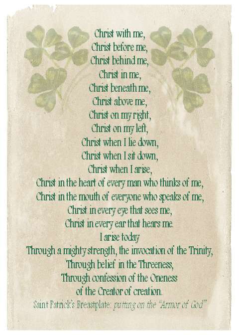 Saint Patrick's Breast Plate
