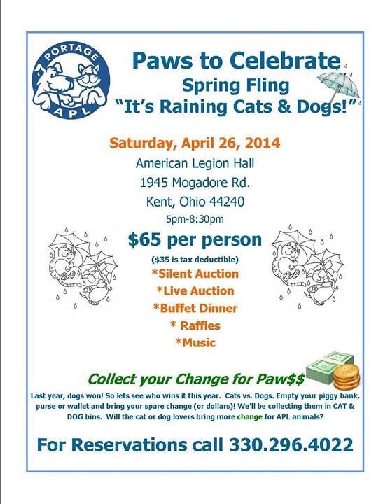 Paws to Celebrate Spring Fling