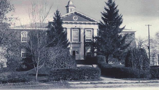 historic school in Mantua