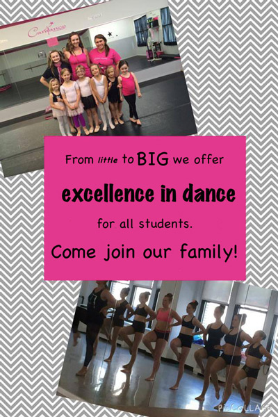 From little to big, we offer excellence in dance.