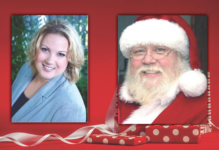 Jusa Insurance with Santa