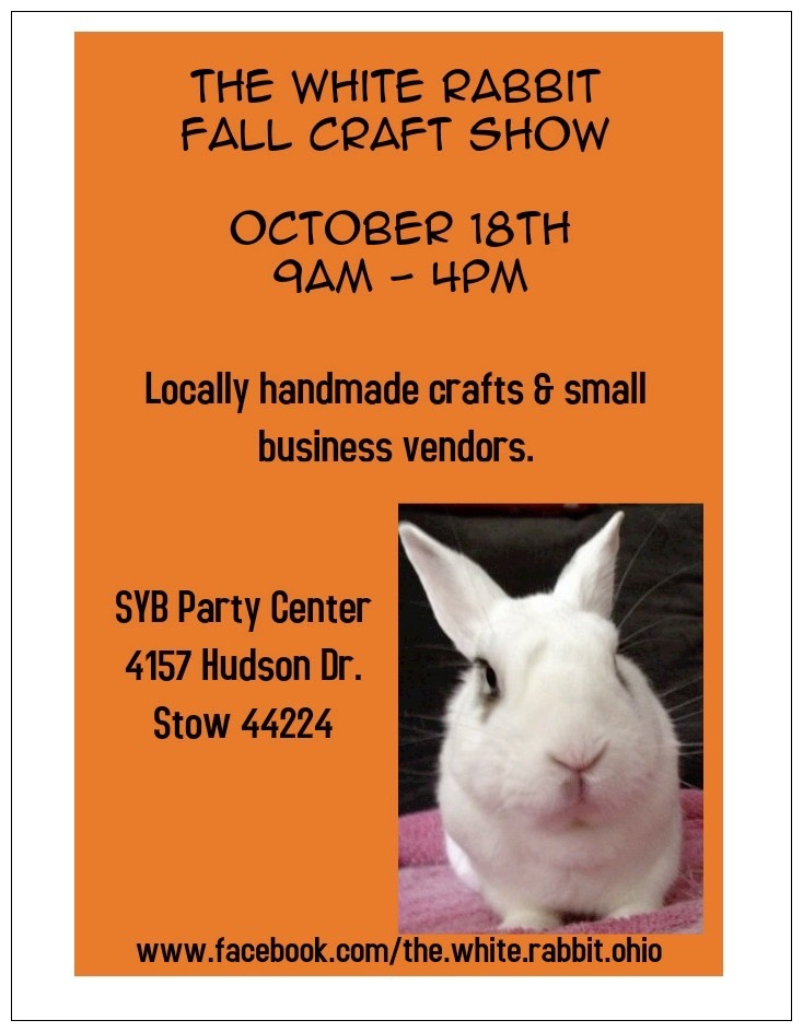 craft show flyer in post